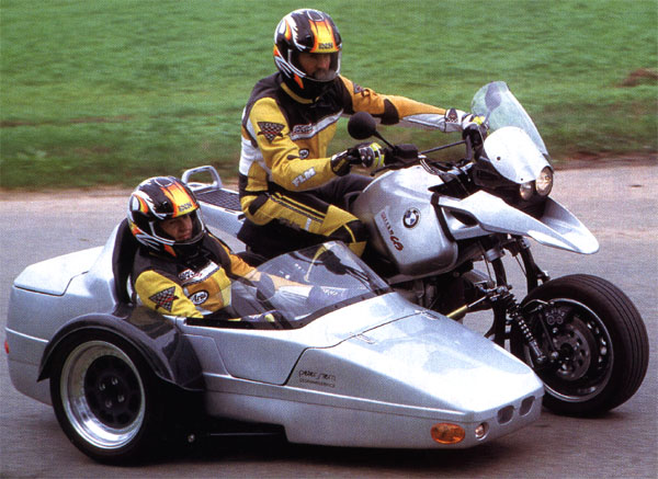 Мотоцикл с коляской eml bmw r 1100 s rsx