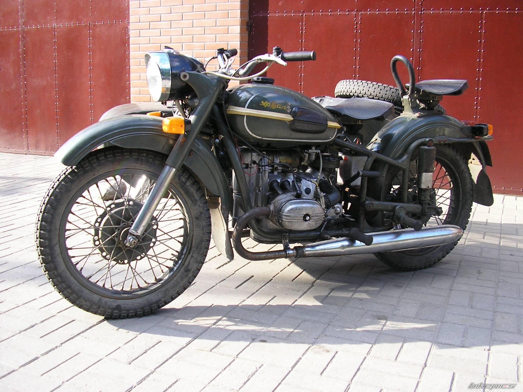 Мотоцикл урал м 66 1972