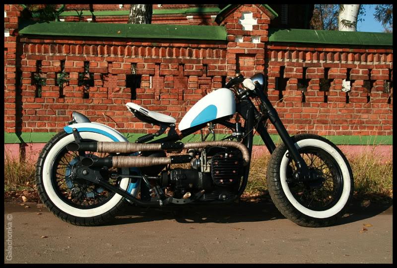 Мотоцикл боббер thumb