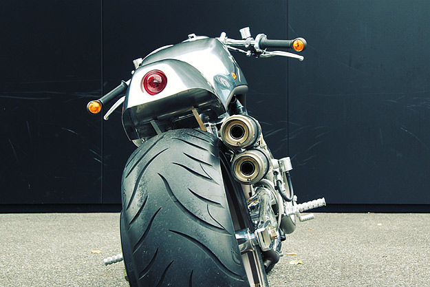 Harley V-Rod Cafe Racer