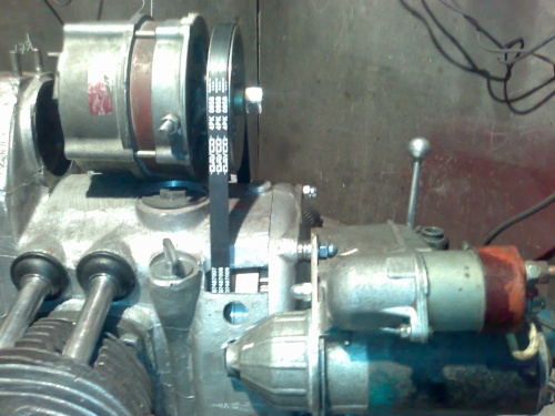 Как сделать генератор мотоцикла урал