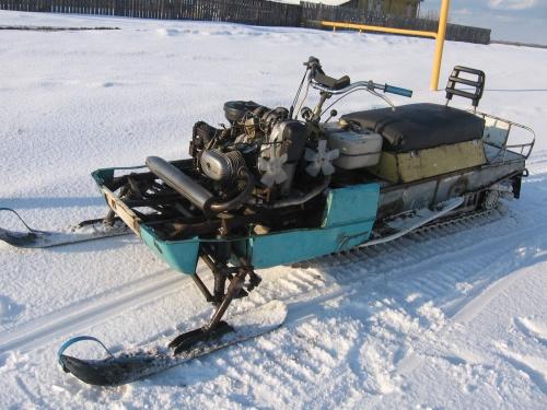 Как своими руками сделать снегоход из мотоблока 432