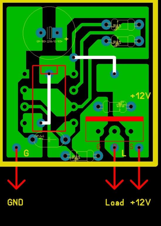 Схема регулятора реле поворотов