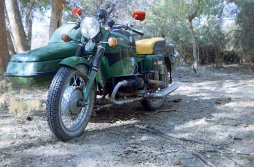 Общий вид на мотоцикл
