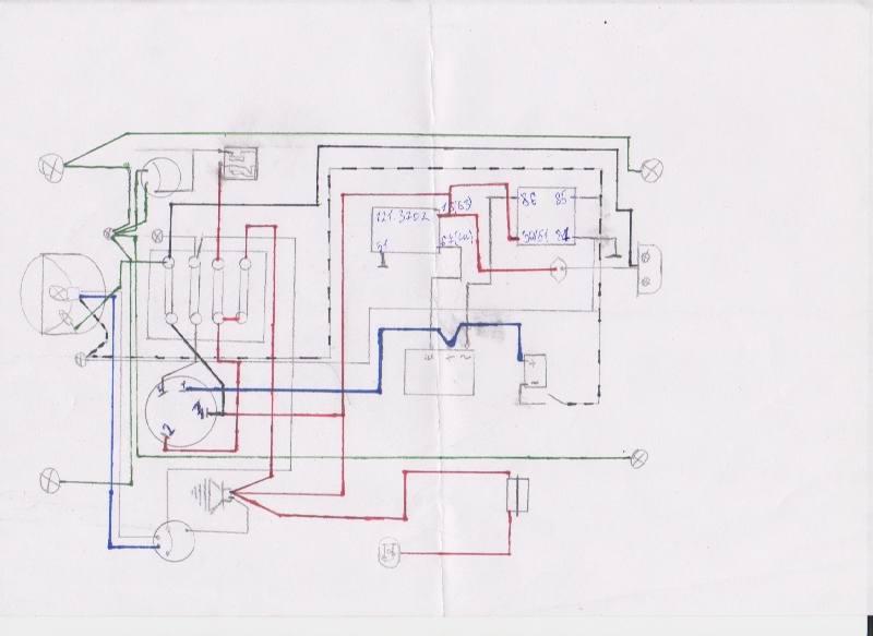 b Схема /b реле регулятора