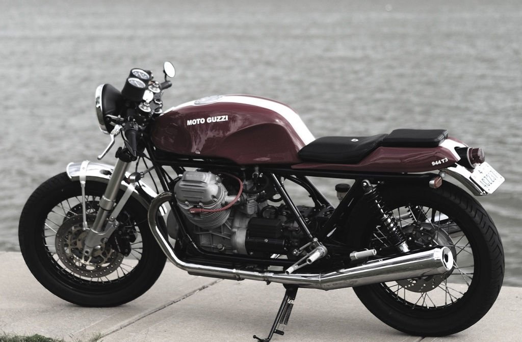 Moto Guzzi 850T3 Cafe Racer | OPPOZIT.RU | мотоциклы Урал, Днепр ...