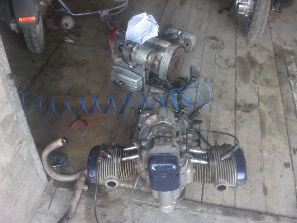 Как сделать двигатель на днепре 182