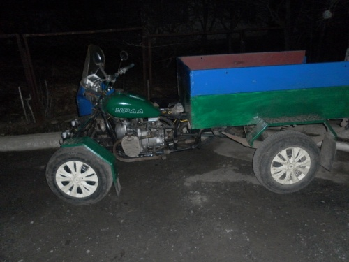 Квадроцикл из урал м 67 36