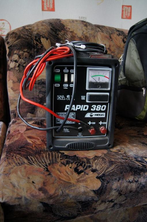 схема пуско-зарядного инвертора - Исскуство схемотехники.