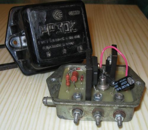 Схема генератора г414