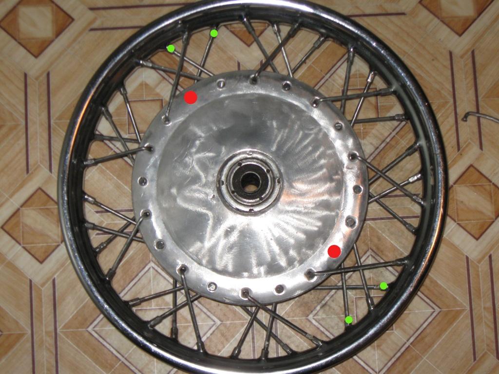 схема спицовки колеса мото