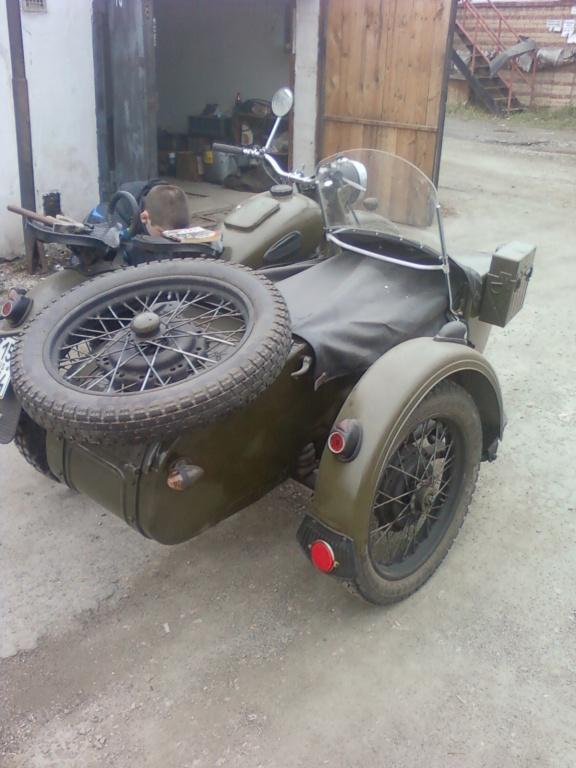 Тюнинг мотоцикла урал с коляской своими руками 32