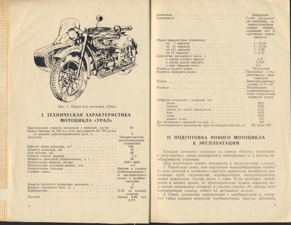 инструкция по эксплуатации мотоциклов урал - фото 5