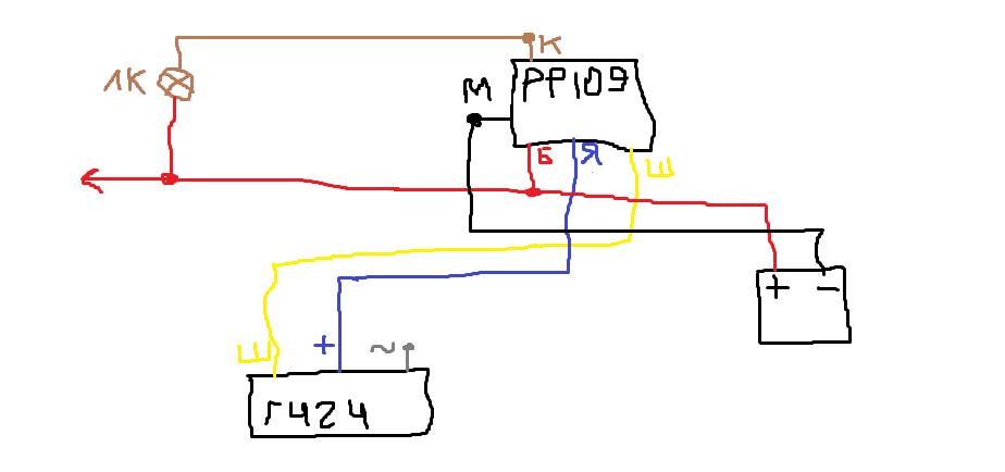 Реле-регулятор РР-109 и