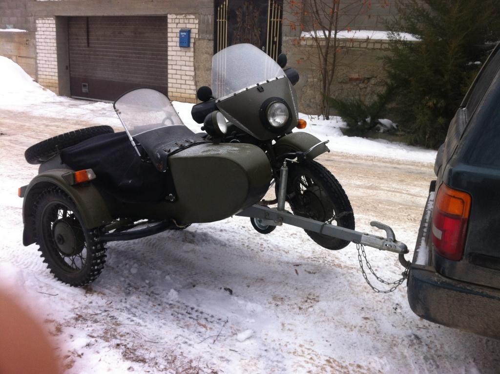 Тюнинг мотоцикла урал с коляской своими руками 84