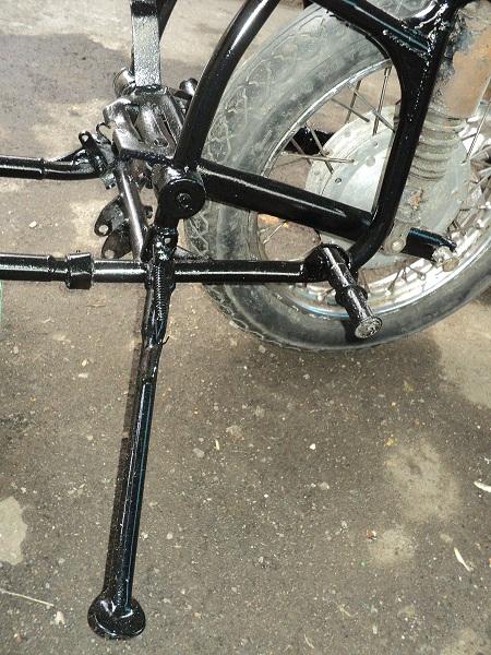 Подножка для мотоцикла урал своими руками 68