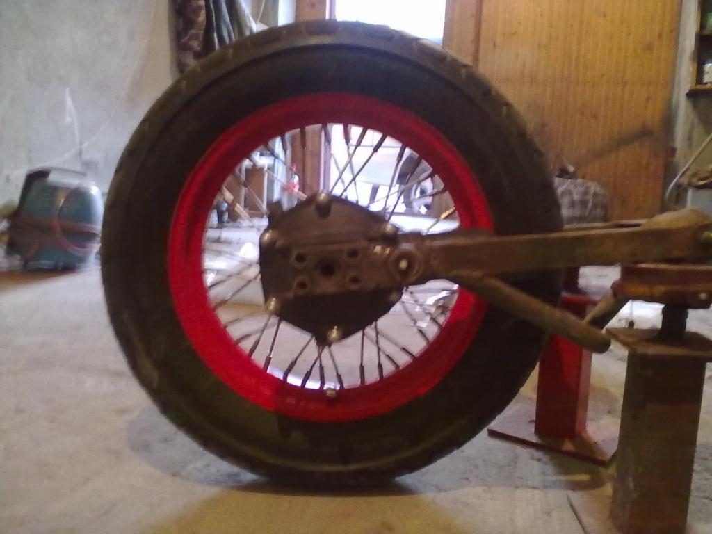 Как сделать задние колеса шире 358