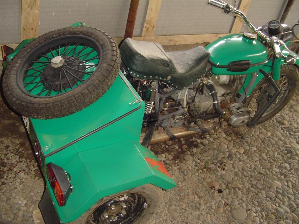 Трицикл своими руками мотоцикл урал 93
