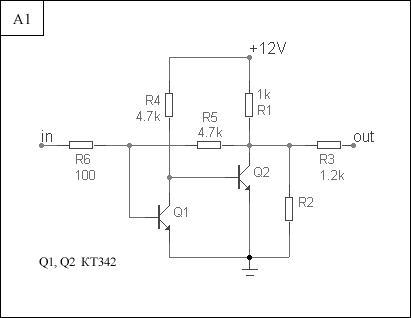 схема транзисторного