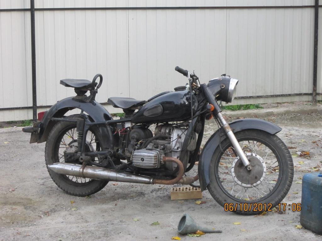 Ремонт мотоцикла урала в картинках