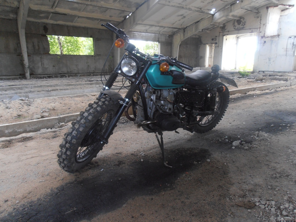 Мотоцикл урал переделка своими руками