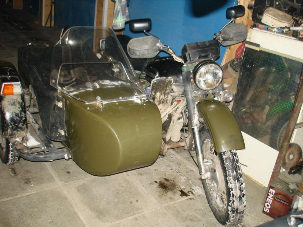 Тюнинг мотоцикла урал с коляской своими руками 39