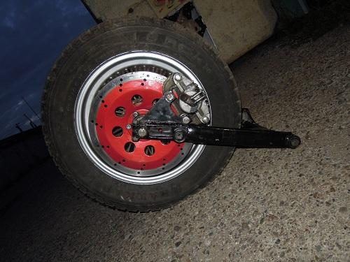 Как сделать задние колеса шире 491