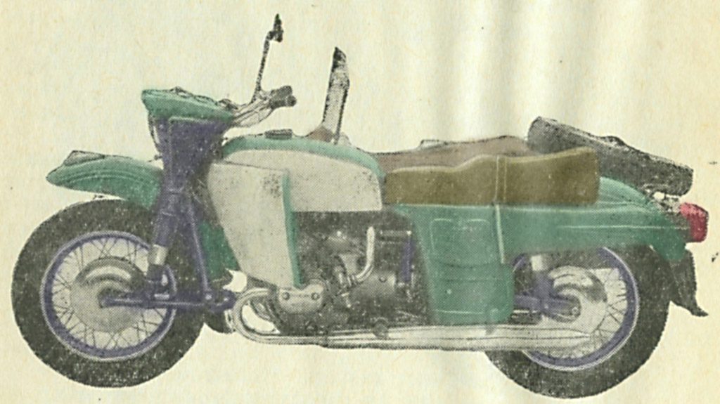 oppozit.ru: мотоцикл ИМЗ М-65