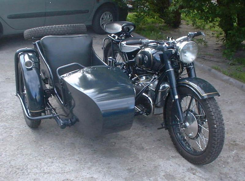 мотоцикл ирбит с коляской