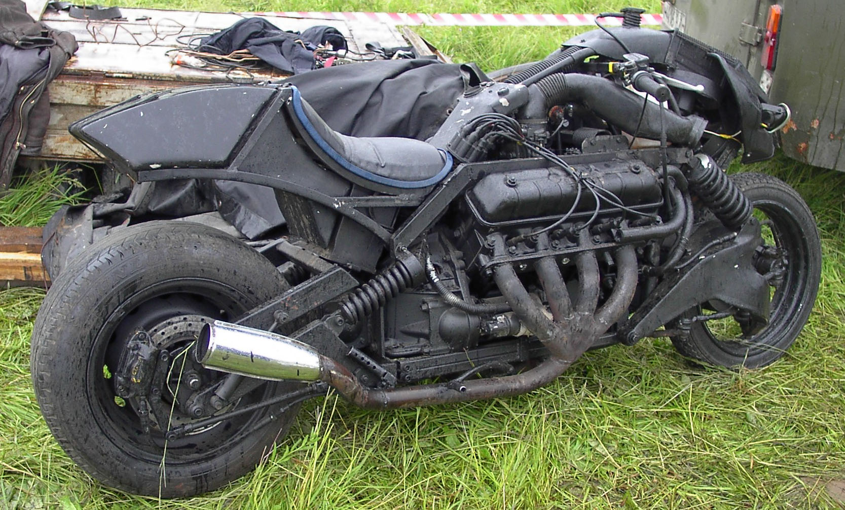 мотоцикл с коляской, как транспорт при БП (видео)