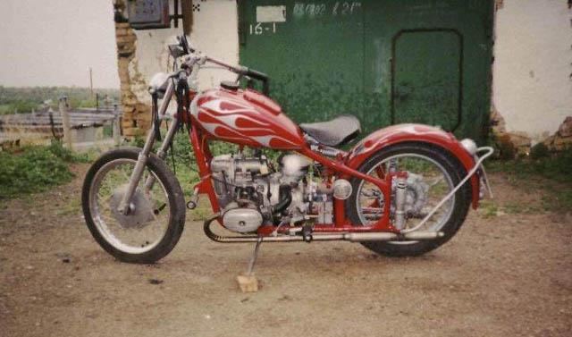 И так сразу к делу основа мотоцикла м 61