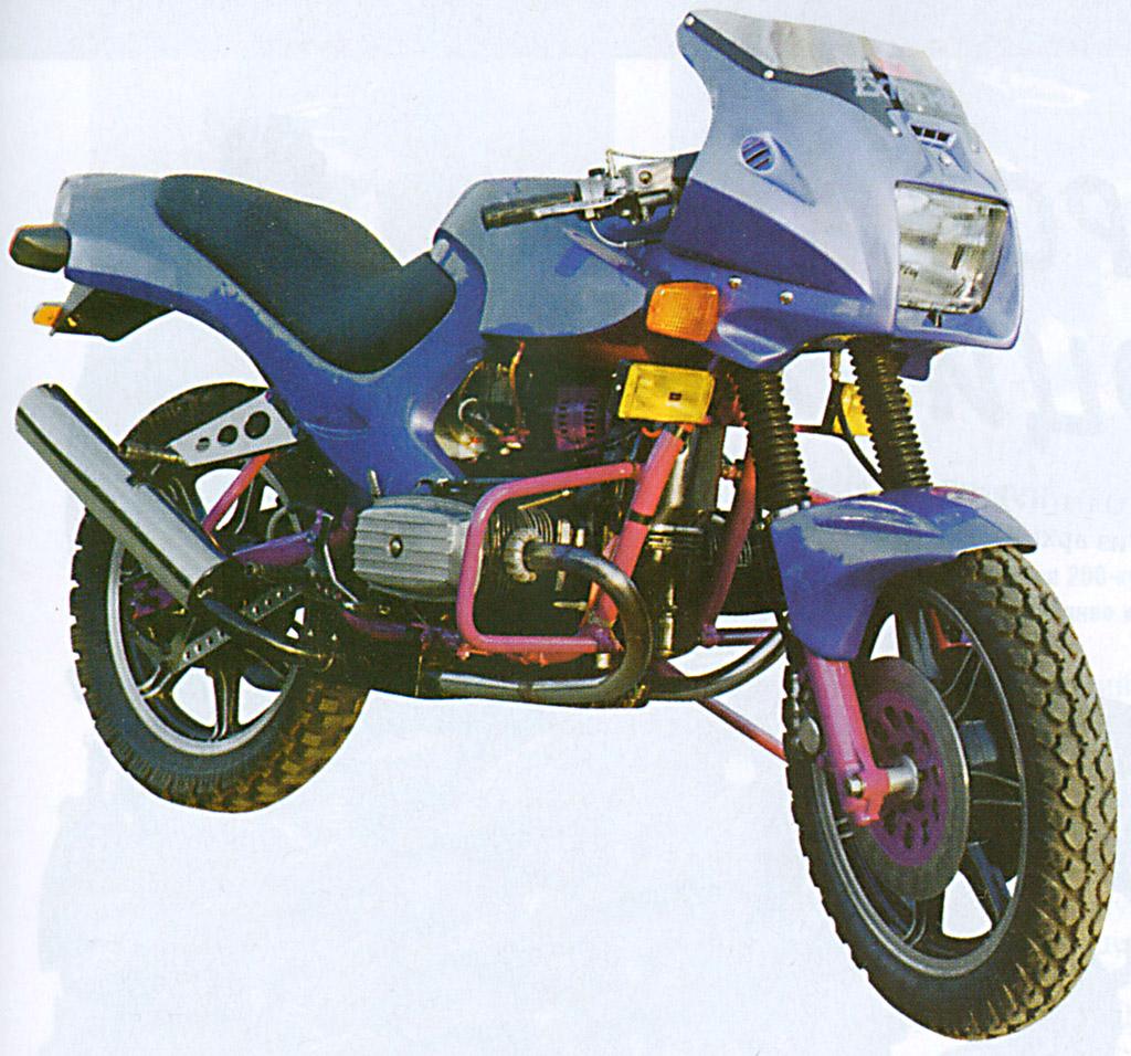 Re: Тюнинг мотоцикла урал днеп…