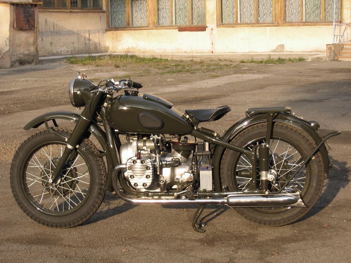 Схема для мотоцикла урал м-72 353
