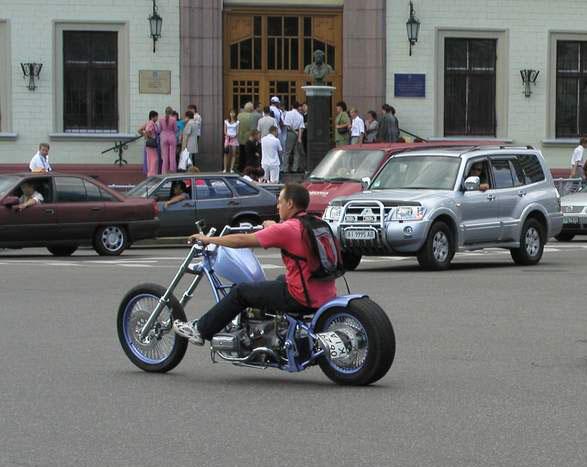 Сварные колеса на мотоцикл урал