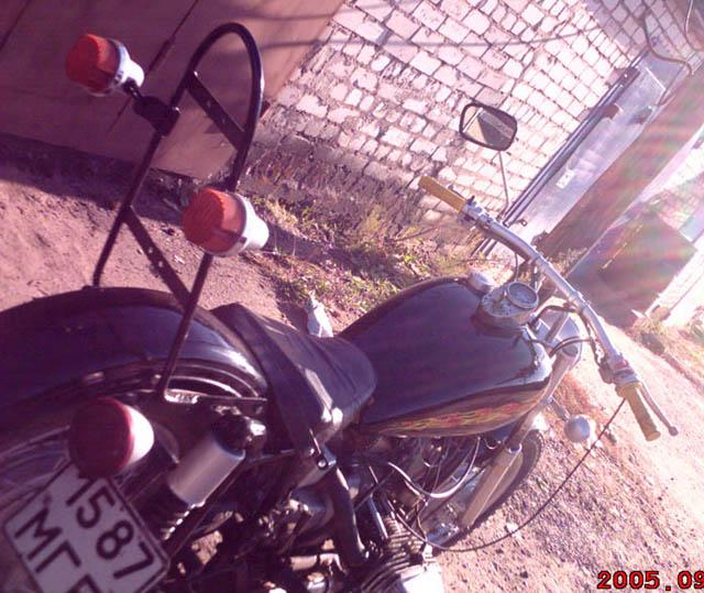 крепление коляски мотоцикла иж #4
