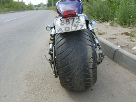 Широкие колеса на мотоцикл своими руками