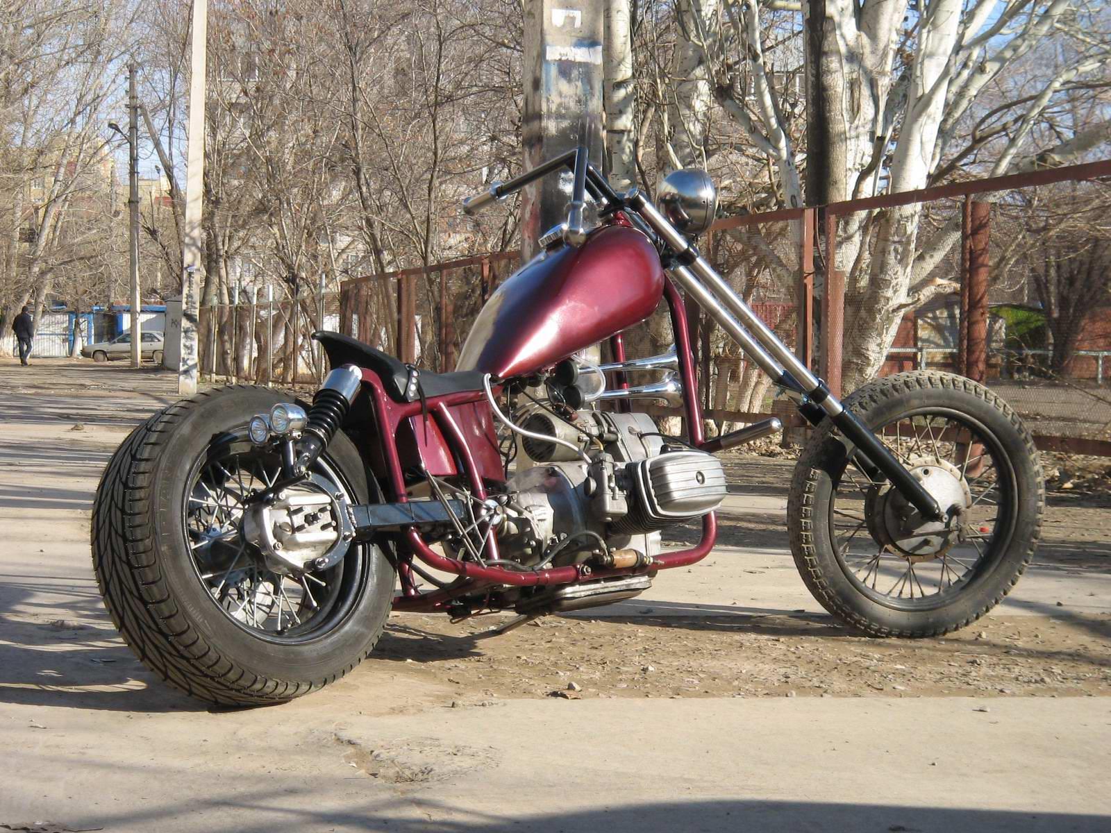 Моё заднее широкое колесо OPPOZIT.RU мотоциклы Урал, Днепр, BMW ремонт мотоциклов