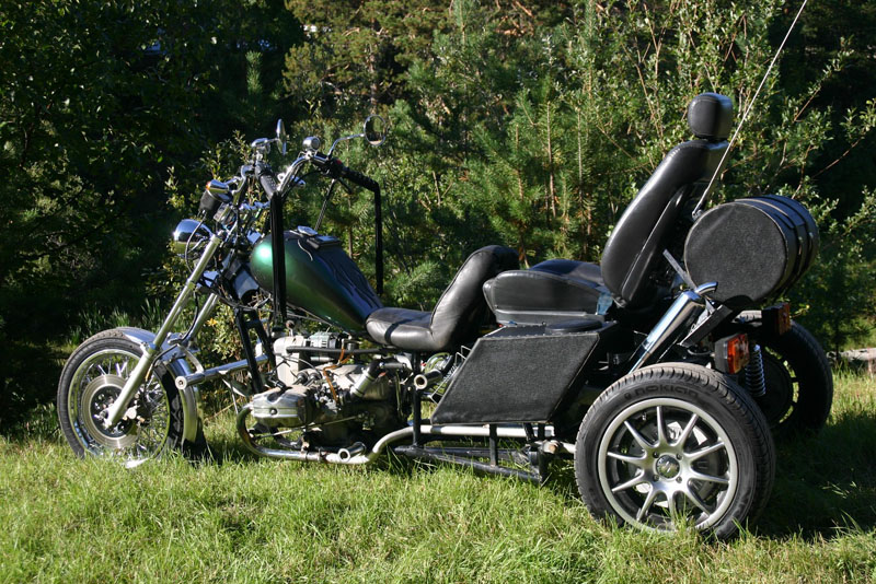 Гибридный мотоцикл своими руками 59