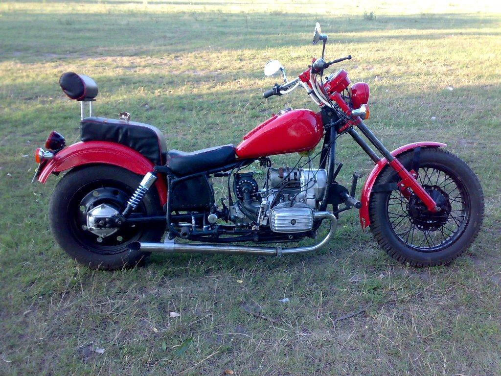 Как сделать лучше мотоцикл урал или 810